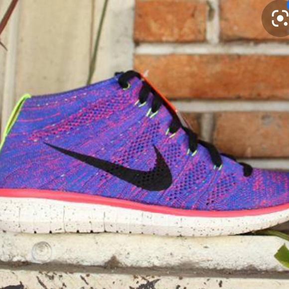 Nike Shoes   High Top Flyknit   Poshmark